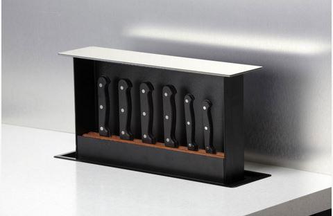Pop up knife set kitchen accessories zesta kitchens for Kitchen set modena